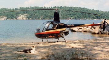 R22 on beach with Puddy-cat